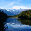 Image Lake Matheson in New Zealand