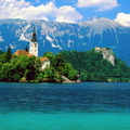 Image Lake Bled in Slovenia - The most beautiful lakes in the world