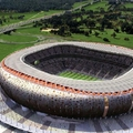 Soccer City Stadium in Johannesburg, South Africa