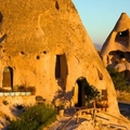 Image Fairy chimney houses in Cappadocia, Turkey - The strangest houses in the world