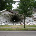 Image Inversion in Houston, USA - The strangest houses in the world