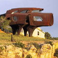 Image Steel House in Texas, USA.  - The strangest houses in the world