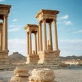Image Palmyra in Syria  - The most fascinating ruins in the world