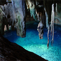 Underground lake near Macan Ché, Mexico