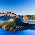 Image Crater Lake in USA - The most beautiful lakes in the world