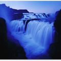 Image Gullfoss Falls in Iceland - The most beautiful waterfalls in the world