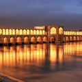 Khaju Bridge in Iran