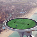The Helipad of the Burj Al Arab in Dubai, UAE