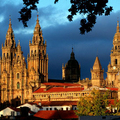 Image Santiago de Compostela Cathedral in Spain - The most beautiful churches in the world