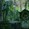 Image Highgate Cemetery in London, UK - The most famous cemeteries in the world
