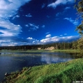 The Yellowstone National Park in Wyoming, USA