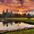 Image Angkor Wat in Cambodia - Top cultural destinations in Asia