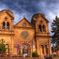 Image St.Francis Cathedral - The best places to visit in New Mexico, USA