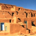 Image Taos Pueblo - The best places to visit in New Mexico, USA