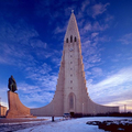 Image Hallgrimskirkja in Reykjavik, Iceland - The most beautiful churches in the world
