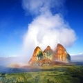 The Fly Geyser, Nevada, U.S.A.