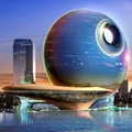 Image Death Star Hotel, Baku, Azerbaijan - The Most Futuristic Luxury Hotels in the World