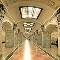 Image Avtovo Station, Saint Petersburg, Russia -  Best Subway Stations in the World